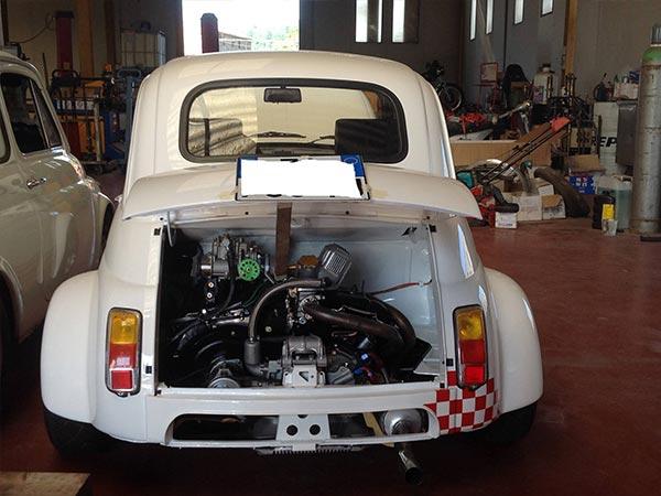 Foto Fiat 500 Abarth 695 Ss