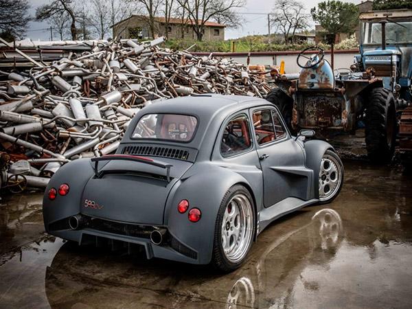 Foto Fiat 500 Motore Lamborghini