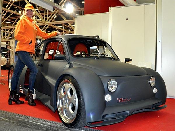 Fiat 500 Lamborghini V12 Engine Fiat Free Engine Image